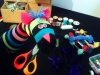 arts and craft workshop, sock puppets